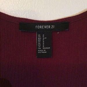 Forever 21 Pants - Forever 21 Red Romper